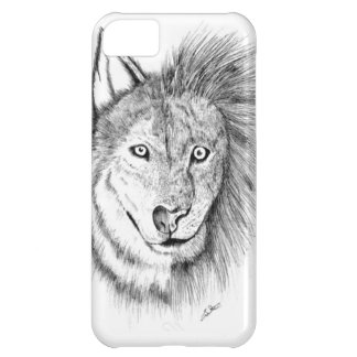Lion Wolf iPhone 5C Case