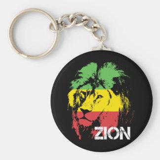 Lion Zion Key Ring