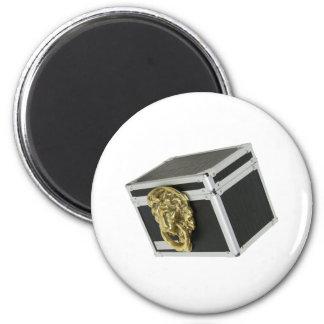 LionBox072709 6 Cm Round Magnet