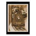 Lionel Model Train Card