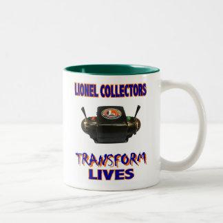 Lionel Transformer Two-Tone Coffee Mug