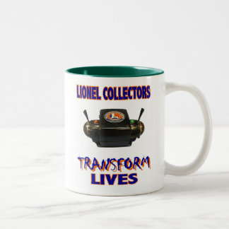 Lionel Transformer Two-Tone Mug