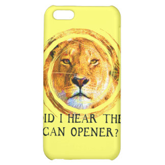 LIONESS ... CAN OPENER COVER FOR iPhone 5C