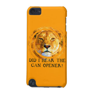LIONESS ... CAN OPENER iPod Touch Case