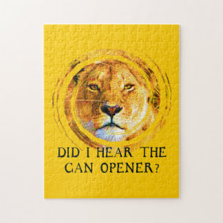LIONESS ... CAN OPENER Puzzle