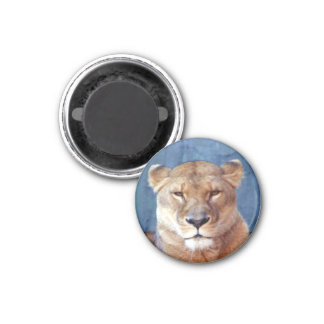 Lioness Magnet