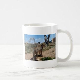 Lioness Patroling Her Turf Mug