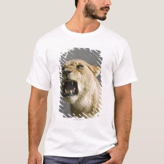 Lioness roaring T-Shirt