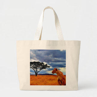 Lioness Storm Tote Bag