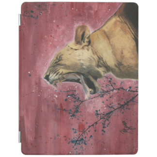Lioness Yawn Apple Ipad Cover