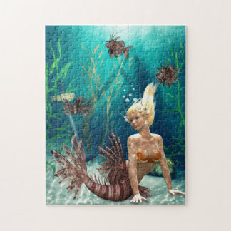 Lionfish Mermaid Puzzle