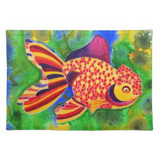 Lionhead Goldfish design placemat