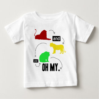 lions and tigers and bears OH MY Baby T-Shirt