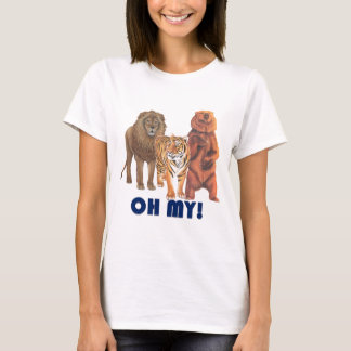 Lions and Tigers and Bears Oh My! T-Shirt