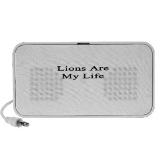 Lions Are My Life iPod Speaker