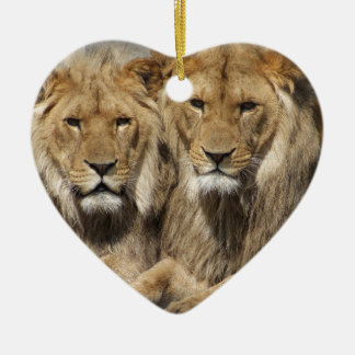 Lions Christmas Ornament