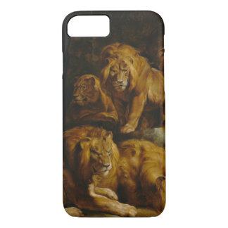 Lions' Den Art phone cases