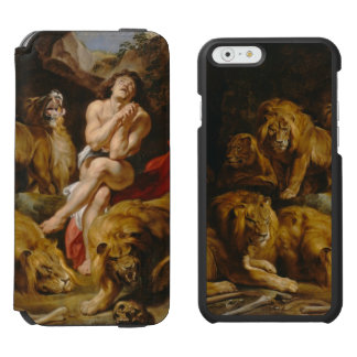 Lions' Den art phone wallets Incipio Watson™ iPhone 6 Wallet Case