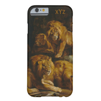 Lions' Den custom monogram cases