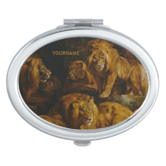 Lions' Den custom pocket mirror