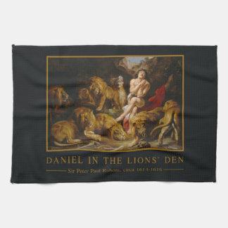 Lions' Den hand towel