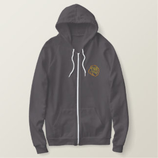 Lions Embroidered Hoodie