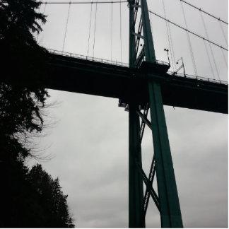 Lions Gate bridge vancouver Photo Sculpture Magnet