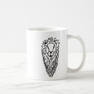 Lion's Head Basic White Mug