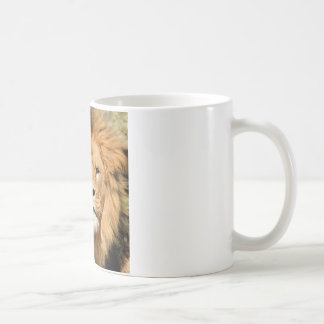 Lions Head Coffee Mug