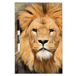 Lions Head Dry Erase Board