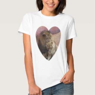 Lions Heart T Shirts