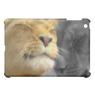 Lions in Love iPad Mini Covers