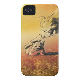 Lions iPhone 4 Case-Mate Case