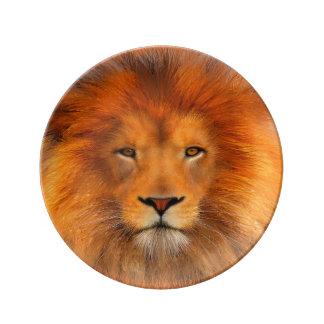 Lion's Mane Decorative Porcelain plate