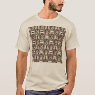 Lion's Mane Design T-Shirt