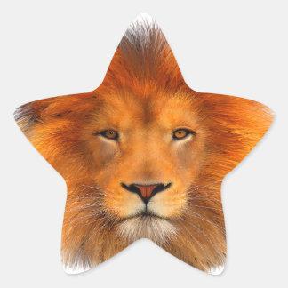 Lion's Mane Star Sticker