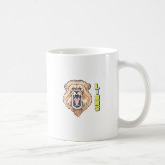 LIONS MASCOT COFFEE MUG