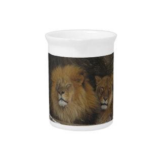 Lions Pitcher