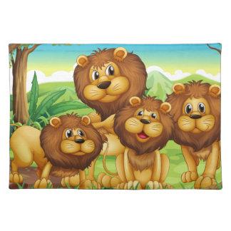 Lions Placemat