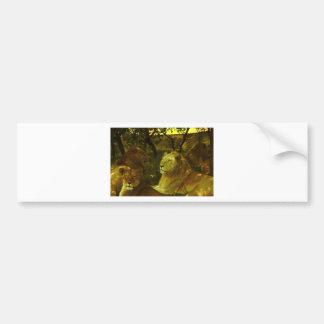 Lions Pride Bumper Sticker
