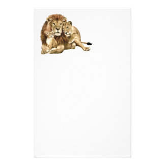 Lions Pride Custom Stationery