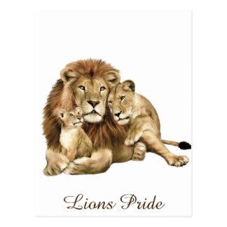 Lions Pride Postcard