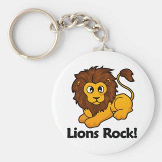 Lions Rock! Keychain