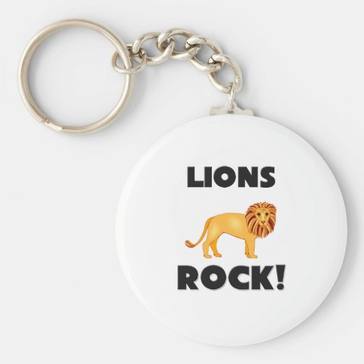 Lions Rock Keychain