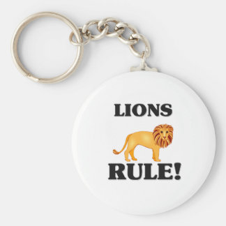 LIONS Rule! Key Chain