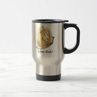 Lions Rule! Travel Mug