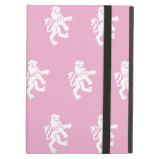 Lions Symbol pink white iPad Air Covers