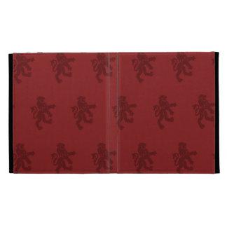 Lions Symbol reds iPad Folio Cover