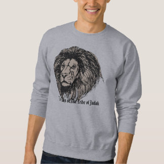 lions, The Lion of The Tribe of Judah Sweatshirt