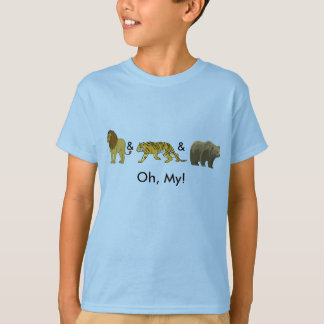 Lions & Tigers & Bears, Oh, My! T-Shirt